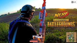 Download Nerf meets PlayerUnknown's Battlegrounds! (PUBG in real life) Video