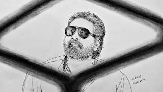 Download Vikram VEDHA Sketch - Vijay Sethupathi Video