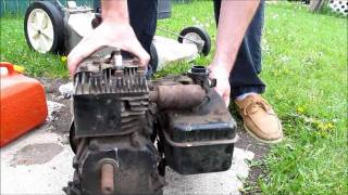 Download Free Motor! Will it start? 1970 3HP Briggs and Stratton Video