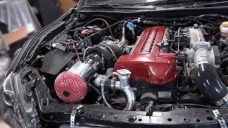 Download 2JZ BRZ Pt 34 - Single Turbo Install Video