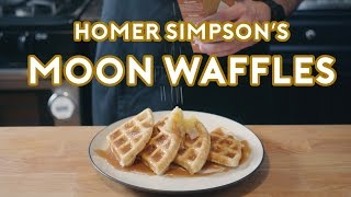 Download Binging with Babish: Homer Simpson's Patented Space Age Out-Of-This-World Moon Waffles Video