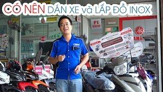 Download Có nên Dán Nilon và Lắp đồ Inox bảo vệ xe máy? ▶ Exciter 150 Video