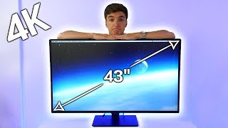 Download First Look at the MASSIVE LG 43″ 4K Monitor! Video