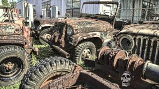 Download Abandoned WW2 jeeps 2016. Amazing abandoned military vehicles WW2. Deserted army cars Video