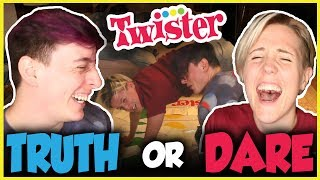 Download Twister TRUTH OR DARE with Hannah Hart! | Thomas Sanders Video