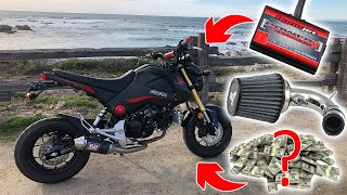 MotoBros - Honda Grom Top Speed 73 MPH Free Download Video MP4 3GP