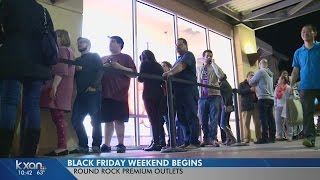 Download Black Friday shopping in Central Texas begins Video