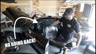 Download GUTTING my TRANS AM!! No Going Back! Video