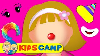 Download Let's Make a Silly Funny Clown Face With Elly Finger Family Song by KidsCamp Video