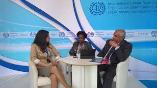 Download ILO Live: Ask the experts - Decent Work for peace and resilience Video