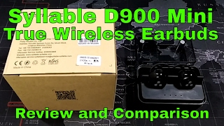 Download Syllable D900 Mini True Wireless Bluetooth Earbuds - Review and Comparison Video