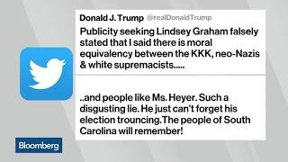 Download Trump Accuses Sen. Graham of Telling 'Disgusting Lie' Video