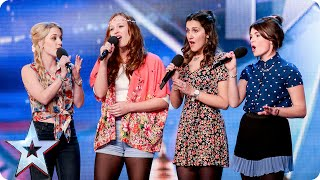 Download Disney singers Misstasia want EVERYONE to be happy, like ALL the time! | Britain's Got Talent 2015 Video
