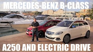 Download (ENG) Mercedes-Benz B-Class Electric Drive - First Test Drive and Review Video