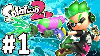 Download Splatoon 2 - Part 1 - The Zap Fish is Gone! (Gameplay Walkthrough Nintendo Switch) Video