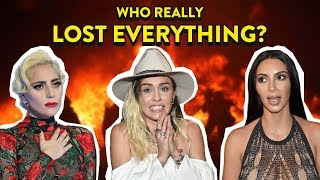 Download Celebs Who Became Homeless Due To California Wildfires: Lady Gaga, Miley Cyrus, Kim Kardashian Video