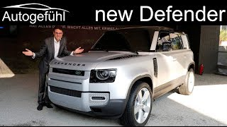 Download all-new Land Rover Defender REVIEW Exterior Interior 2020 - Autogefühl Video