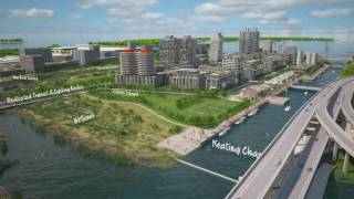 Download Smart city Toronto, Waterfront Toronto - The Port Lands Google Sidewalk Labs Video