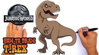 Download How to Draw T Rex | Jurassic World Video