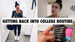Download HEALTHY EATING AND A MINI NIGHT ROUTINE (VLOG STYLE) Video