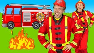 Download Firefighters Song for Kids - Fire Truck Song - Fire Trucks Rescue Team | Kids Songs Video