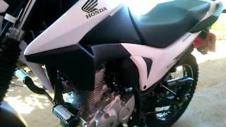 Download MOTO HONDA BROS 160 BRANCA TUNADA. Video