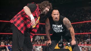 Download The Rock returns to help Mick Foley against Evolution: Raw, March 1, 2004 Video