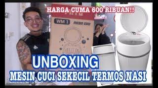 Download UNBOXING MESIN CUCI SEKECIL TERMOS NASI (MITO WM 1) Video