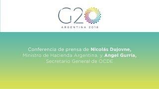 Download Press conference by Nicolás Dujovne and Angel Gurría Video