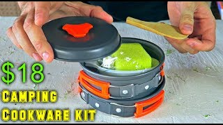 Download $18 Camping Cookware Kit Video