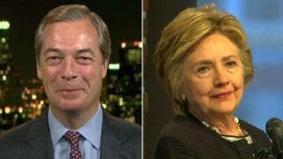 Download Farage reacts after Clinton blames him for election loss Video