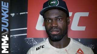 Download Uriah Hall full post-UFC Fight Night 116 interview Video