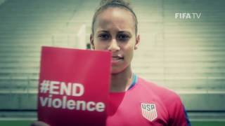 Download Give the red card to violence against women and children - #ENDviolence Video