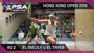 Download Squash: Hong Kong Open 2016 - El Welily v El Tayeb - Rd 2 Highlights Video