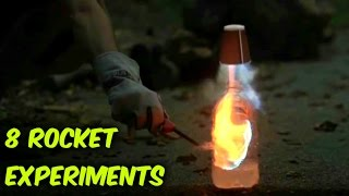 Download 8 Easy Rocket Experiments Compilation Video