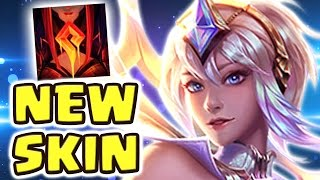 Download THIS IS WHY WE NEED FRIENDLY FIRE !! COOLEST SKIN EVER ELEMENTALIST LUX MID SPOTLIGHT - Nightblue3 Video