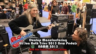 Download NAMM 2015: Uli Jon Roth Visits The Jim Dunlop Booth And Plays The New Pedals Video