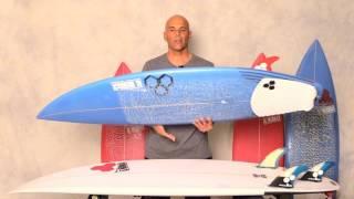 Download Channel Islands Surfboards ″Rook 15 & Sampler″ Grom Review by Noel Salas Ep.19 Video