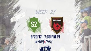 Download USL LIVE - Seattle Sounders FC 2 vs Phoenix Rising FC 9/20/17 Video