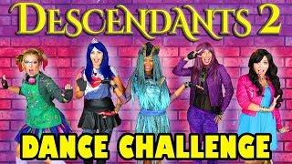 Download Descendants 2 Dance Challenge Uma's Dance-Off. Totally TV Video