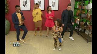 Download Ivanah the Dancer teaches Katlego Maboe to Dance! Video
