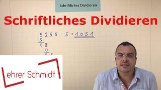 Download Schriftliches Dividieren - EINFACH ERKLÄRT | Mathematik | | Lehrerschmidt - einfach erklärt! Video