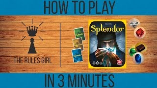 Download How to Play Splendor in 3 Minutes - The Rules Girl Video