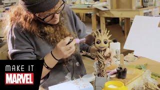 Download Make It Marvel: Baby Groot Video