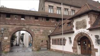 Download Nuremberg, Germany: the city walls Video