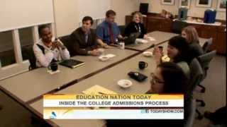 Download Inside the college admissions process Parenting TODAYshow com Video