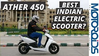 Download Ather 450 Electric Scooter Review | Tech Laden and Smart - Is it the Best We Have? Video