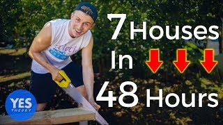 Download Building 7 houses in 48 hours (TRANSFORMATION) Video