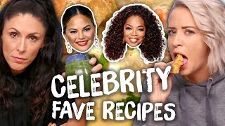 Download Trying the Best Celebrity Recipes - Taylor Swift, Chrissy Teigen, Oprah Video