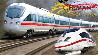 Download ICE скоростной поезд в Германии.ICE high-speed train in Germany. Video